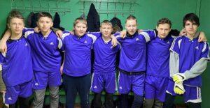 Районные соревнования по мини-футболу мальчики- 4 место